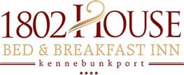 1802 House Bed and Breakfast Footer Logo