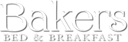 Bakers Bed and Breakfast footer Logo