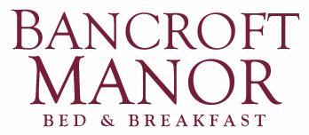 text logo BANCROFT MANOR