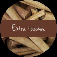 extra touches