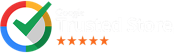 Badge Award- Google Trusted Store 5 Stars