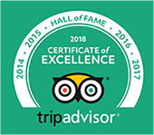 Hall of Fame from Trip Advisor