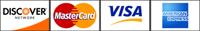 credit card images - Visa Mastercard American Express Discover