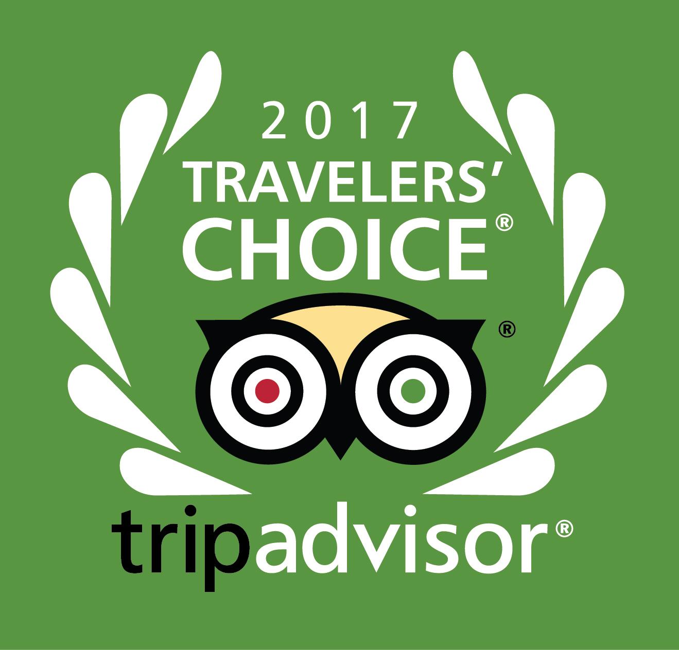 2017 TripAdvisor Best B&B