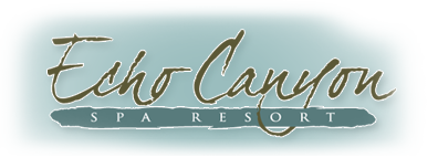 Logo - Echo Canyon Spa Resort | Oklahoma's Premier Romantic Getaway : Oklahoma Bed & Breakfast
