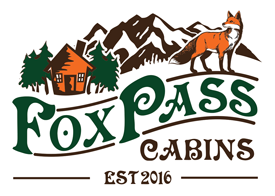 Fox Pass Cabins Logo