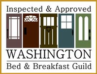 George Washington Inn - Washington Bed and Breakfast Guild Member