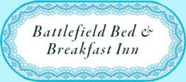 Logo - (framed in lace) Gettysburg Battlefield Bed and Breakfast