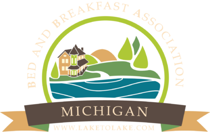 The icon for the Michigan Bed & Breakfast Association is the guarantee of a quality-inspected inn.
