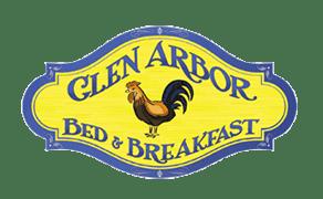 The logo of the Glen Arbor Bed & Breakfast.