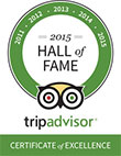 Logo - TripAdvisor Award!