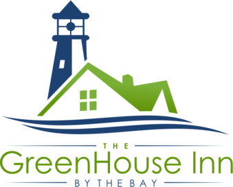 Logo (illustration of lighthouse) The Green House Inn By The Bay