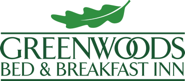 Home page logo - greenwoods bed and breakfast inn