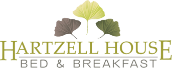 Hartzell House Bed & Breakfast Logo