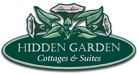 Logo - Hidden Garden Cottages and Suites