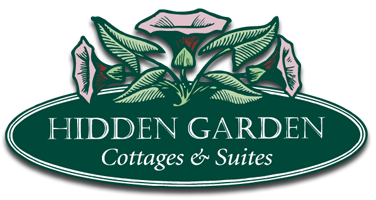 Logo - Hidden Garden Cottages and Suites