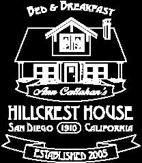 Logo - Ann Callahan's Hillcrest House San Diego, CA