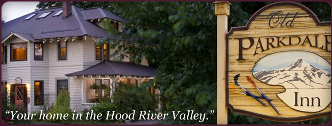 Hood River Valley Bed & Breakfast near Mt. Hood: Old Parkdale Inn