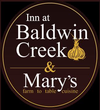 Inn at Baldwin Creek, Mary's Restaurant