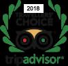 Trip Advisor Travellers Choice 2018 logo