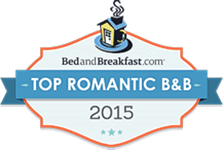 Logo for BedandBreakfast.com Top Romantic B&B 2015