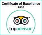 Award TripAdvisor 2018 !