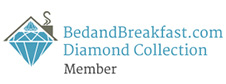 Exclusive Award - BedandBreakfast.com Diamond Collection Member