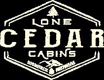 Lone Cedar Cabins Logo