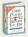 Photo of book 1000 places to visit
