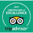 TripAdvsiro #1 Rated Inn - Certificate of Excellence