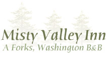 logo Misty Valley Inn A Forks, WA Bed and Breakfast Inn