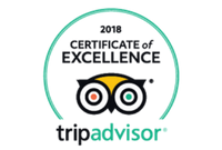 TripAdvisor - 2018 Certificate of Excellence badge