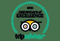 TripAdvisor - 2018 Certificate of Excellence badge