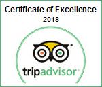 Trip Advisor Award 2018