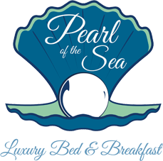 Pearl of the Sea Bed & Breakfast Logo