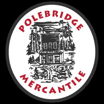 Polebridge Mercantile and Cabins Logo