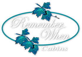 Remember When Cabins Logo