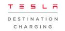 Tesla charging logo