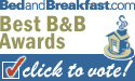 Bed and Breakfast .com Best B&B Awards - Click to vote