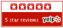 Yelp Badge for the Tucker Inn in Provincetown MA