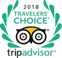 2018 Travelelers' Choice - Trip Advisor