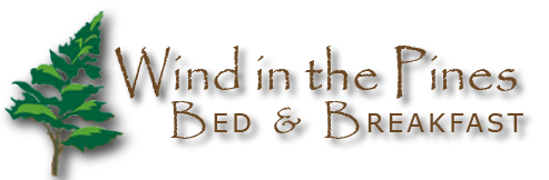 Wind in the Pines Bed and Breakfast Logo